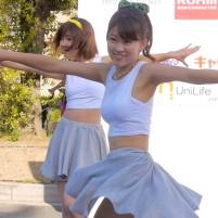 同志社女子大学 ダンス部の健康的なワキ