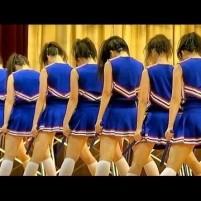 女子高生チアリーダーのダンスワキ