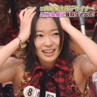 AKB48脇(ワキ)画像集 剃り跡あり