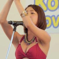 現役女子大生グラドル小柳歩ちゃん(6代目ミスマリンちゃん)のワキをただ舐め回したい!