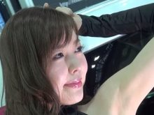 【高画質】大阪オートメッセ2015のキャンギャルのワキの下が綺麗すぎて頬ずりして舐めまわしたい!