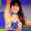 【4K画質】キャンギャルチアリーダーのワキの下を高画質で楽しむ!東京オートサロン2015