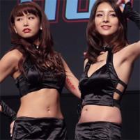 モデル系モデルキャンGALのワキはメチャ清楚でムラムラする☆ 東京オートサロン2015