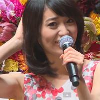 (高画質ワキマニアムービー)大島優子のモザ無生ワキムービー☆ワキのシワがエロすぎる☆