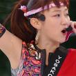 YOSAKOIソーラン祭りでワキの下全開でライブするアップアップガールズ(仮)