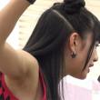 【高画質ワキフェチ動画】フェアリーズ伊藤萌々香の黒ずんだエロいワキの下