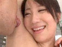 吉村卓にワキの下の臭いを嗅がれてワキ舐めされて「おいしい」のコメントを頂いた倉田まお