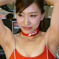 【高画質ワキフェチ動画】恥ずかしくないの?ジョリワキを堂々と自信たっぷりに見せつけてくるセクシーキャンギャル