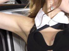 【高画質ワキフェチ動画】ワキ舐めしたら美味しそうなぐらい綺麗に手入れされたツルワキなセクシーキャンギャル