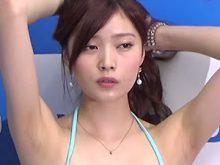 【高画質ワキフェチ動画】セレブアイドルのくせにワキの下がジョリ気味でギャップが素晴らしい橋本真帆