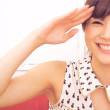 【高画質ワキフェチ動画】綺麗なツルワキを小一時間べろべろワキ舐めしたくなるグラドルの松川佑依子