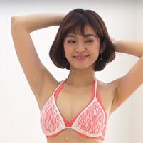 【高画質ワキフェチ動画】綺麗な顔してジョリワキ疑いのあるレースクイーンの柳沼陽菜