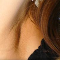 【高画質ワキフェチ動画】激カワなキャンギャルのワキの下の毛穴までしっかり分かるワキフェチ動画