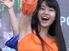 【高画質ワキフェチ動画】ザラついたワキの下を公衆の面前で晒して踊るアイドルグループTokyo Cheer2 Party