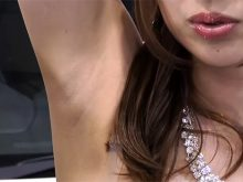 【高画質ワキフェチ動画】毛穴までしっかり確認できるほどドアップでワキの下を撮られたキャンギャル 東京オートサロン2017