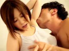 ワキフェチな彼氏にワキの下を執拗にワキ舐めされて喘ぎまくる