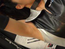 【高画質ワキフェチ動画】自慢のツルワキを見せつけるようにワキ見せポーズ連発なセクシーキャンギャル
