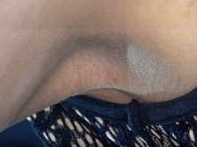 【高画質ワキフェチ動画】ワキの毛穴のポツポツした質感までしっかりと撮られちゃったセクシーキャンギャル 大阪オートメッセ2017