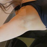 【高画質ワキフェチ動画】自信があるのか恥ずかしげもなくワキの下全開のセクシーキャンギャル
