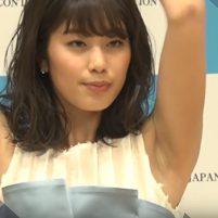 【高画質ワキフェチ動画】いい香りが漂ってきそうなワキの下を全開にする稲村亜美