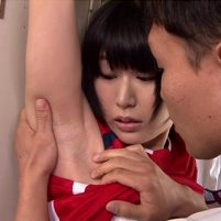 部活中のJKの腋に発情してワキの下を思いっきり使ってやりまくる