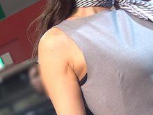 【高画質ワキフェチ動画】カワイイ顔して卑猥過ぎるワキマンコを晒してしまったキャンギャル