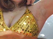 【高画質ワキフェチ動画】剃り残しのしっかり残ったワキの下を晒してしまうキャンギャル 東京オートサロン2018