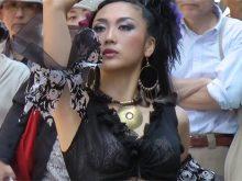 【高画質ワキフェチ動画】ベリーダンスでフェロモンムンムンのワキの下を披露する昼下がりの若妻たち