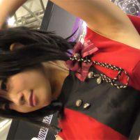 【高画質ワキフェチ動画】美しすぎるキャンギャルはワキの下も全く隙がない 東京オートサロン2018