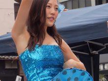 【高画質ワキフェチ動画】アイドルだからしっかりとワキの下も手入れされてあるYSK48