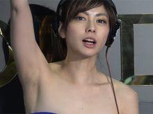 【高画質ワキフェチ動画】貧乳のキレイすぎるDJお姉さんのワキの下から目が離せない