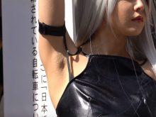 【高画質ワキフェチ動画】コスプレイヤーのワキの下の毛穴までしっかり分かるぐらい高画質で最高の映像!