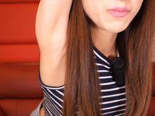 【高画質ワキフェチ動画】youtubeでガッツリとワキの下をカメラに晒す女優の岩下莉子