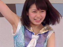 【高画質ワキフェチ動画】キレキレのダンスでワキ汗をかいてそうなワキの下を見せてくれる可愛すぎるチアガール