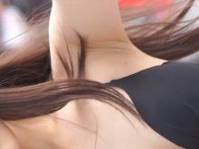 【高画質ワキフェチ動画】モデルみたいなコスプレイヤーの赤裸々なワキの下
