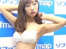 【高画質ワキフェチ動画】ワキ見せポーズが効果的だということをしっかり理解している元NMB48の肥川彩愛