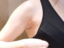 【高画質ワキフェチ動画】いやらしいワキの下から目が離せなくなるストレッチ動画