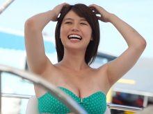 【高画質ワキフェチ動画】ムチムチしたワキの下がエロすぎる天然女子大生の井口綾子