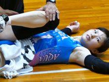 【高画質ワキフェチ動画】きれいなワキの下だけどめちゃくちゃ卑猥に見えてしまう女子バレー選手
