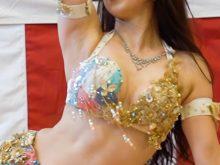 【高画質ワキフェチ動画】むちっとしたワキの下を全開で艶かしく踊るベリーダンサー