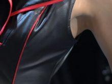 【高画質ワキフェチ動画】顔もキレイ!ワキの下もきれい!非の打ち所のないキャンギャル 東京オートサロン2019