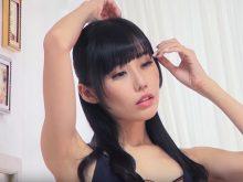 【高画質ワキフェチ動画】しっかりとカメラの前でワキ見せポーズをサービスしてくれるレースクイーンの稲森美優