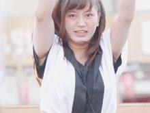 【高画質ワキフェチ動画】よさこいでムチッとしたワキの下を晒して踊る娘